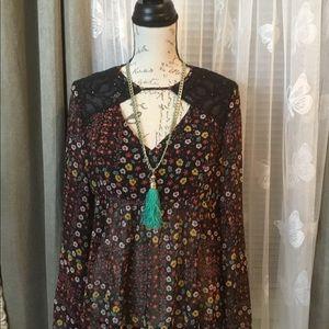 Bcbgeneration daisy blouse